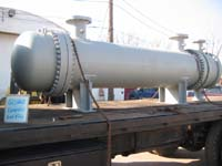 Repaired or remanufactured heat exchanger pipe